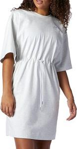 Sukienka New Balance mini w sportowym stylu z okrągłym dekoltem