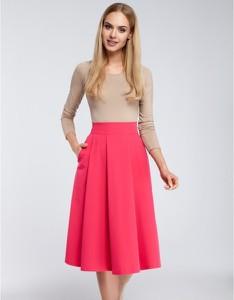 Różowa spódnica MOE