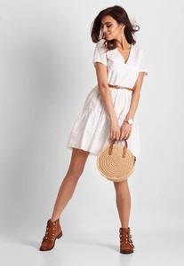 f2cd7aa63045e2 letnia sukienka biała - stylowo i modnie z Allani
