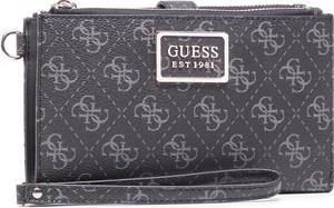 Czarny portfel Guess