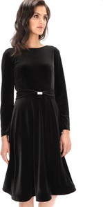 Czarna sukienka L'AF z tkaniny