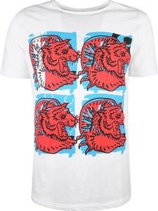 T-shirt Antony Morato w młodzieżowym stylu z bawełny z nadrukiem