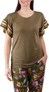 Zielony t-shirt Deha