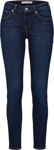 Granatowe jeansy Calvin Klein