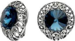 Polcarat Design Srebrne kolczyki z kryształami Swarovskiego K3 1914
