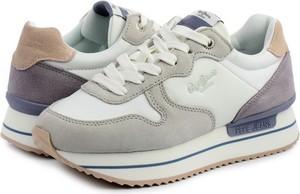 Buty sportowe Pepe Jeans sznurowane