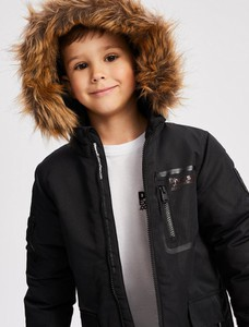 Czarna kurtka dziecięca DiverseExtreme
