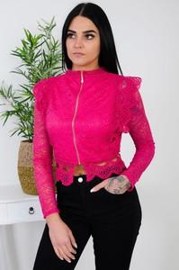 Bluzka Olika w stylu casual z długim rękawem