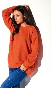 Pomarańczowy sweter Lemoniade