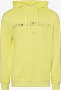 Żółta bluza Armani Exchange
