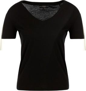 T-shirt Guess w stylu casual z okrągłym dekoltem z krótkim rękawem