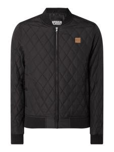 Czarna kurtka Urban Classics w stylu casual
