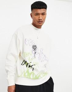 Bluza Asos z nadrukiem w młodzieżowym stylu