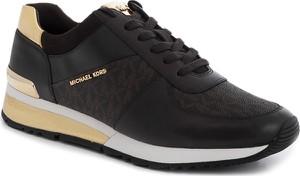 Sneakersy Michael Kors ze skóry w młodzieżowym stylu sznurowane
