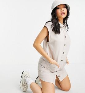 Sukienka Noisy May Petite z jeansu mini w stylu casual
