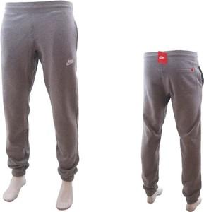 Brązowe spodnie sportowe Nike
