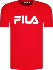 T-shirt Fila w młodzieżowym stylu z krótkim rękawem