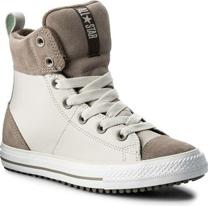 Buty dziecięce zimowe Converse sznurowane