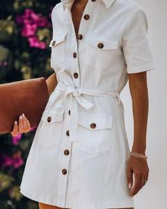 Sukienka Kendallme w stylu casual mini z kołnierzykiem