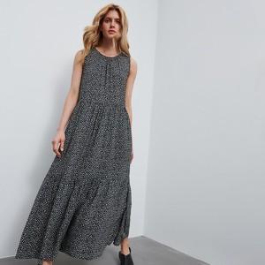 Sukienka Reserved bez rękawów maxi