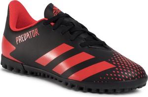 buty adidas czerwono czarne stylowo i modnie z Allani