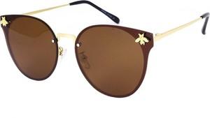 Brązowe okulary damskie Prius Polarized