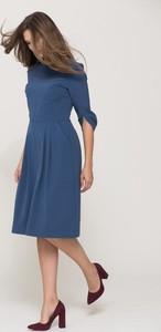 Niebieska sukienka VISSAVI