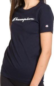 Bluzka Champion w sportowym stylu z bawełny z okrągłym dekoltem