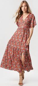 Sukienka born2be w stylu casual z krótkim rękawem
