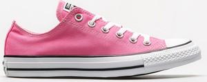 Różowe trampki Converse sznurowane niskie