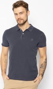 Granatowy t-shirt Marc O'Polo
