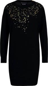 Sukienka Boutique Moschino w stylu casual z okrągłym dekoltem