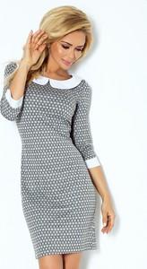 Sukienka NUMOCO w stylu casual mini dopasowana