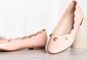 Różowe baleriny Royalfashion.pl