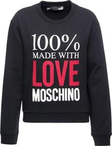 Bluza Love Moschino w młodzieżowym stylu krótka