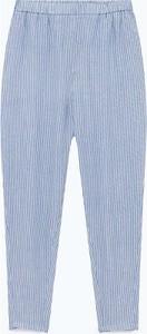 Spodnie American Vintage z lnu