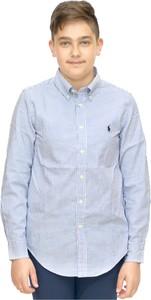Niebieska koszula dziecięca POLO RALPH LAUREN