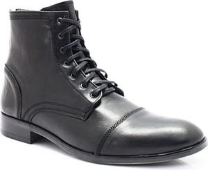 Czarne buty zimowe kent w stylu klasycznym
