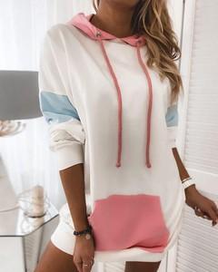 Sukienka Kendallme mini z długim rękawem prosta