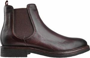 Brązowe buty zimowe Gino Rossi