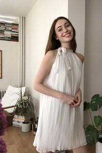 Sukienka Trendyol bez rękawów prosta mini
