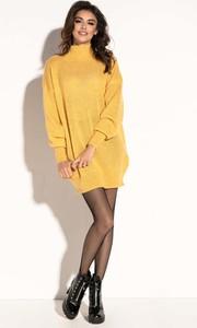 Sukienka Fobya mini z moheru w stylu casual