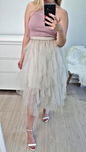 353e5e2a tiulowa spódnica reserved - stylowo i modnie z Allani
