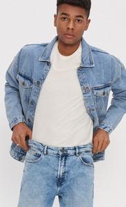 Niebieska kurtka House z jeansu w stylu casual
