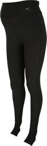 Czarne legginsy Puma z dżerseju w sportowym stylu