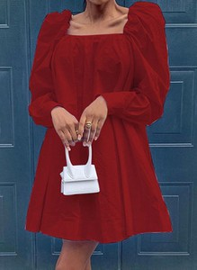 Sukienka Cikelly z długim rękawem