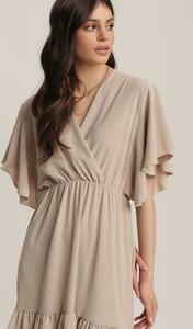 Sukienka Renee mini z długim rękawem w stylu casual