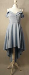 Sukienka Nifiko midi z długim rękawem z dekoltem w kształcie litery v