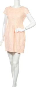 Sukienka H&M z okrągłym dekoltem