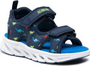 Granatowe buty dziecięce letnie Action Boy dla chłopców
